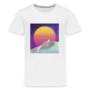 Starry Sunset Aesthetic - Kids' Premium T-Shirt