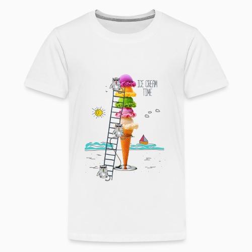 ICE CREAM TIME 01 - Kids' Premium T-Shirt