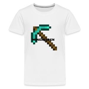 Offical MinerJaden - Kids' Premium T-Shirt