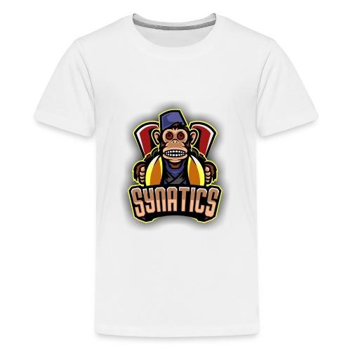 Synatics mascot logo - Kids' Premium T-Shirt