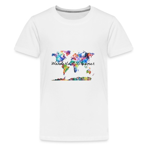Wanderlust Dreamer - Kids' Premium T-Shirt