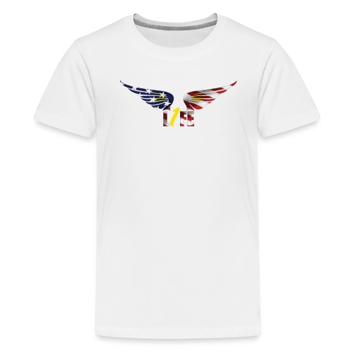 Patriotic1LifeLogo - Kids' Premium T-Shirt
