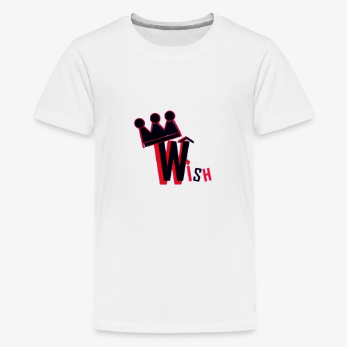 Wish Clan Logo - Kids' Premium T-Shirt