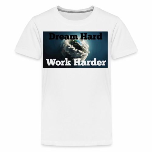 Work Hard - Kids' Premium T-Shirt