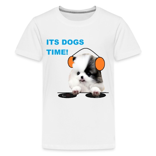 its dogs time! - Kids' Premium T-Shirt