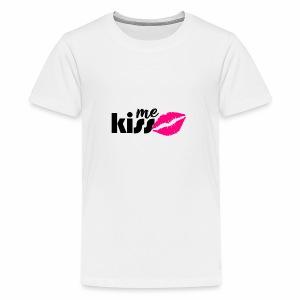 kiss me2 - Kids' Premium T-Shirt