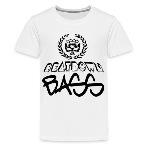 BEATDOWN BLACK LOGO - Kids' Premium T-Shirt