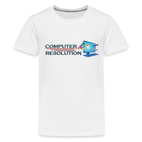 Colored Computer Resolution - Kids' Premium T-Shirt