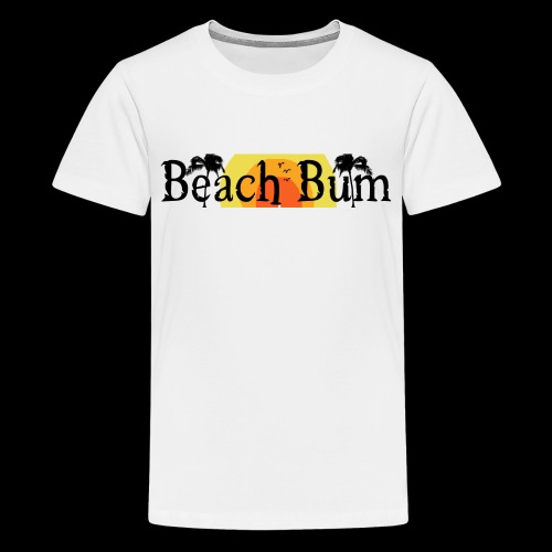 BeachBumlogowithTREES - Kids' Premium T-Shirt