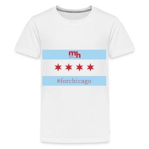 ForChicago 1440 x 810 - Kids' Premium T-Shirt