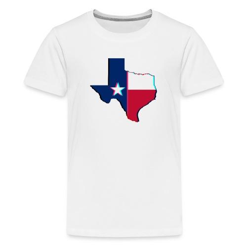 3D Texas - Kids' Premium T-Shirt