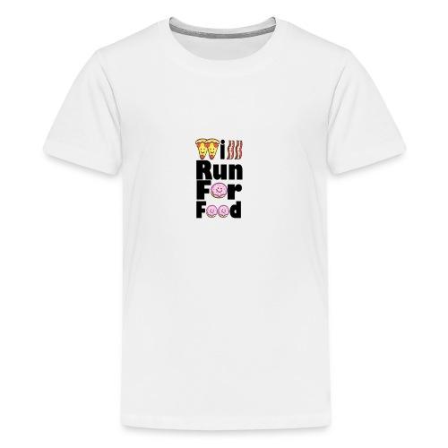 Will Run for Food - Kids' Premium T-Shirt