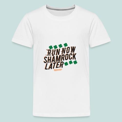 Shamrock Later - Kids' Premium T-Shirt