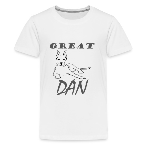Great Dan Dog Funny Shirt For Dog Lover - Kids' Premium T-Shirt