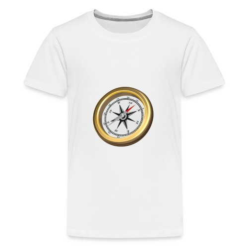 Compass 3D - Kids' Premium T-Shirt