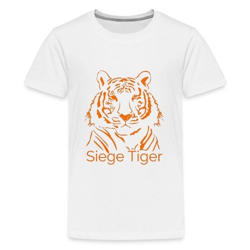 Siege Tiger Orange - Kids' Premium T-Shirt