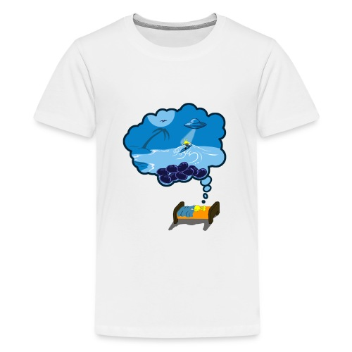 Strainge - Blue Dream Marijuana Strain shirt - Kids' Premium T-Shirt