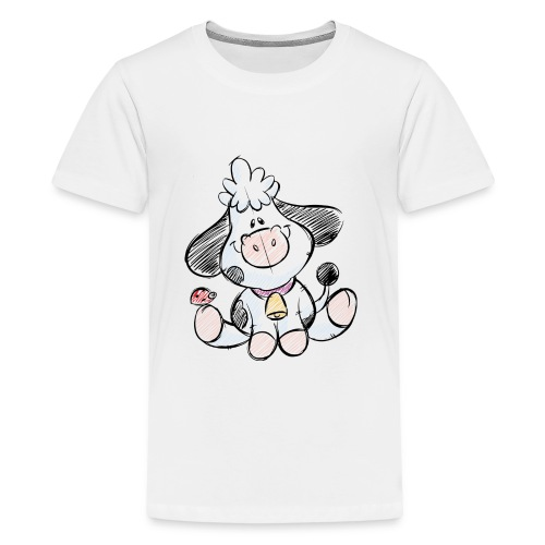 cow funny love animals and pets - Kids' Premium T-Shirt