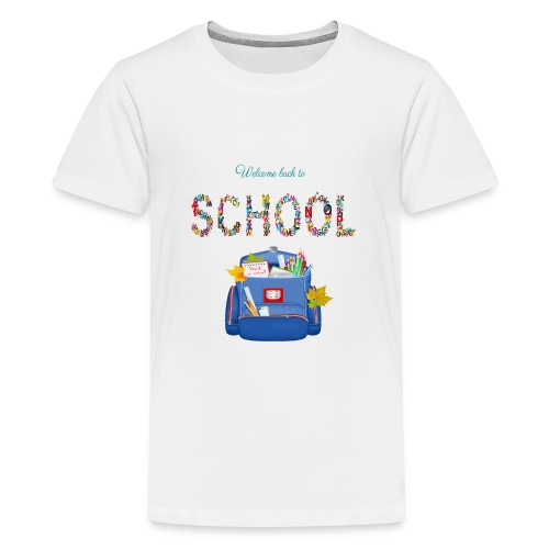 welcome back to school kids 2019 - Kids' Premium T-Shirt