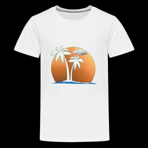 Summer and Gym and Beach Dress For Lover and Fond - Kids' Premium T-Shirt