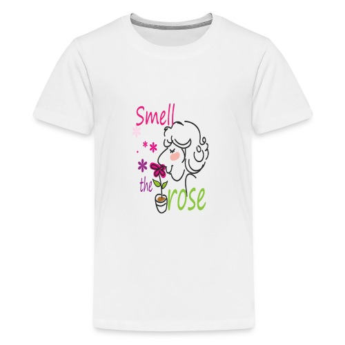 smell the rose - Kids' Premium T-Shirt