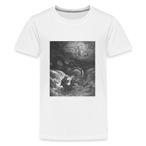 God Smites the Leviathan - Kids' Premium T-Shirt