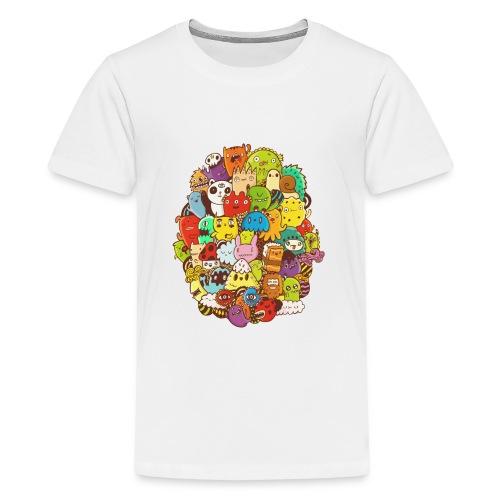 Doodle for a poodle - Kids' Premium T-Shirt