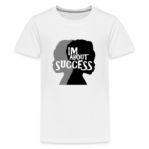 IM ABOUT SUCCESS original brand logo - Kids' Premium T-Shirt