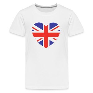 Lovely Britain - Kids' Premium T-Shirt