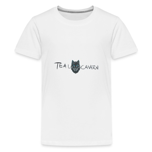 TealCavern Wolf - Kids' Premium T-Shirt