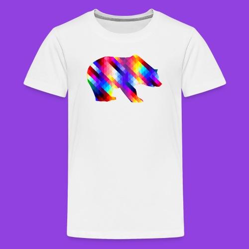 Bear Color Pattern - Kids' Premium T-Shirt