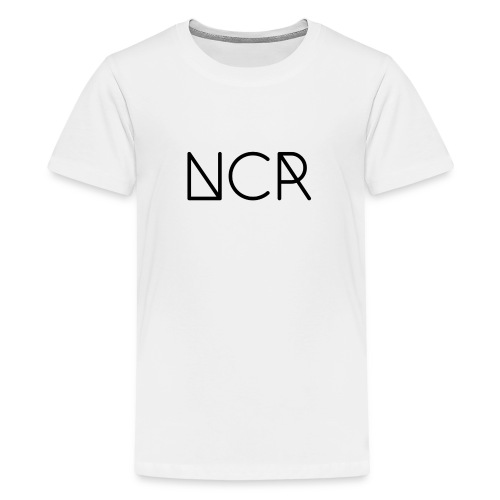 Black Logo NCR - Kids' Premium T-Shirt