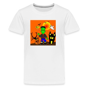 Halloween Frankenstein s Monster - Kids' Premium T-Shirt
