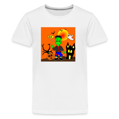 Halloween Frankenstein s Monster - Kids' Premium T-Shirt