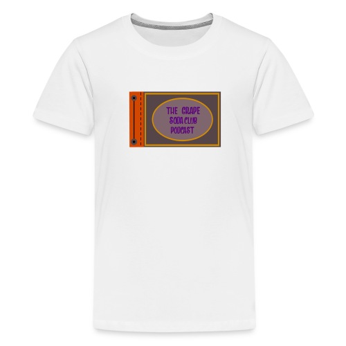 Grape Soda Club Podcast Adventure Book - Kids' Premium T-Shirt