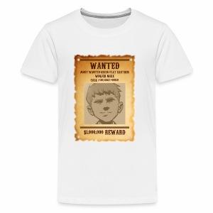 Winjer Nuxx Flat Earther - Kids' Premium T-Shirt