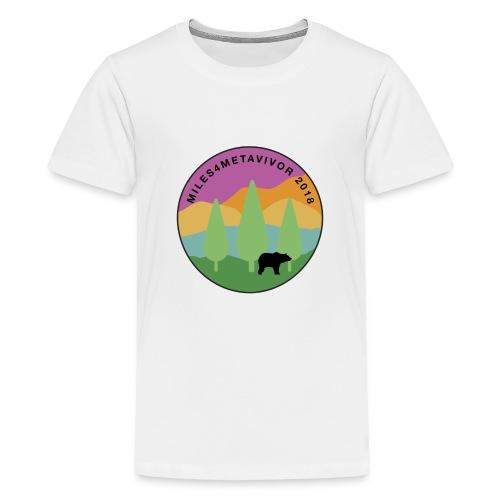 Miles4Metavivor 2018 - Kids' Premium T-Shirt