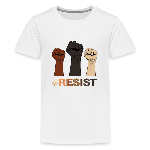 Resist / Racial Justice - Kids' Premium T-Shirt