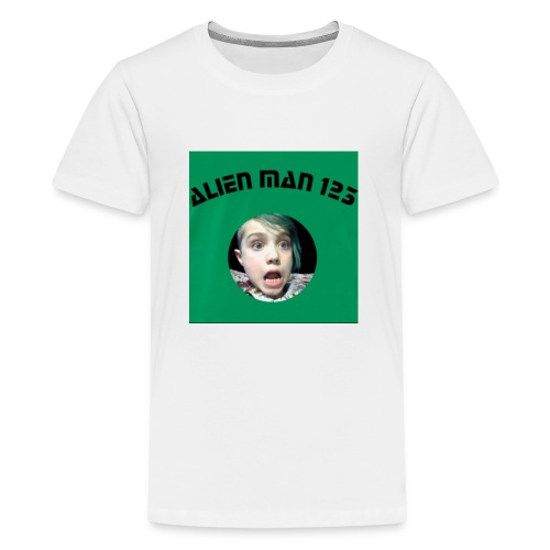 Alien man 123 - Kids' Premium T-Shirt