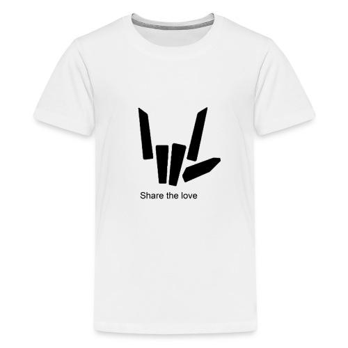 Share the love - Kids' Premium T-Shirt