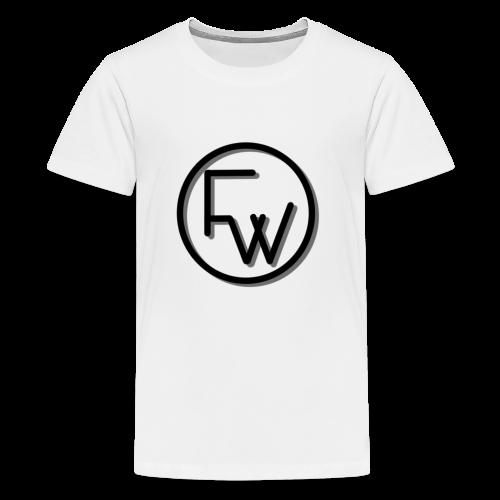 A Funny Wilson Production Black Logo - Kids' Premium T-Shirt