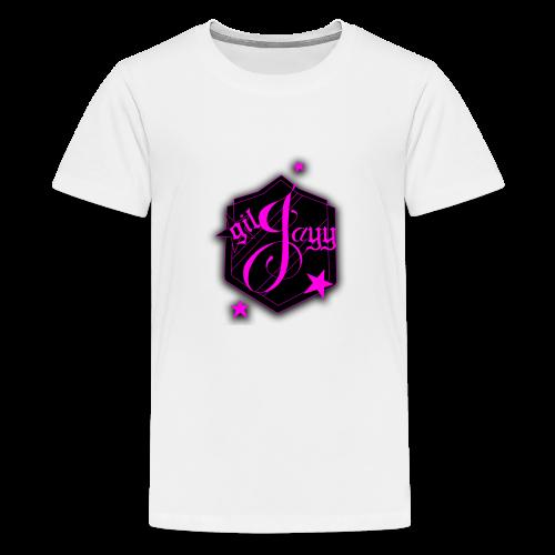 GilJayy Badge (Pink) - Kids' Premium T-Shirt
