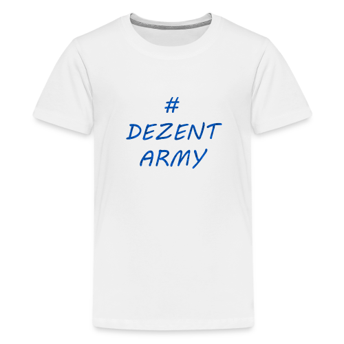 DEZENT-ARMY-BLAU - Kids' Premium T-Shirt