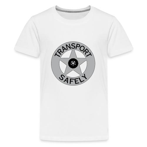 Transport Safely Logo - Kids' Premium T-Shirt