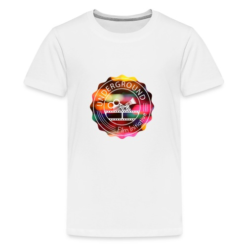 Underground_Film_Initiative_Logo_Colour_Pop_Bokeh - Kids' Premium T-Shirt