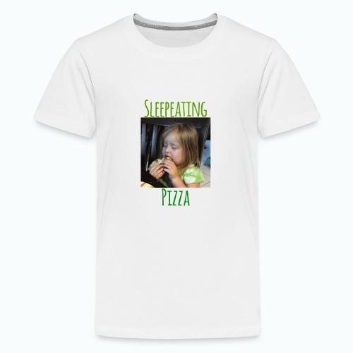 Sleepeating Pizza - Kids' Premium T-Shirt