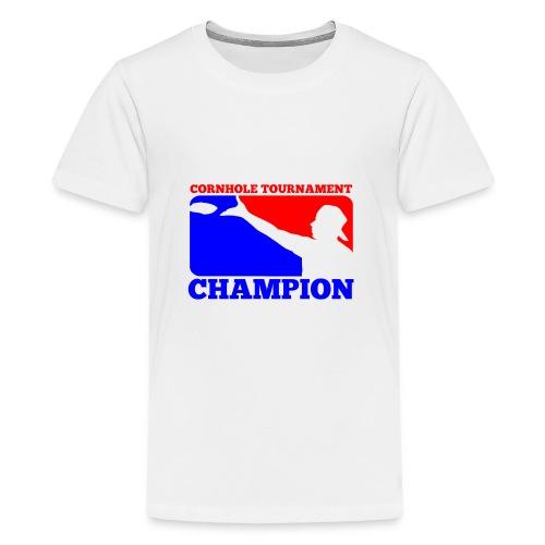 Cornhole Tournament Champion - Kids' Premium T-Shirt