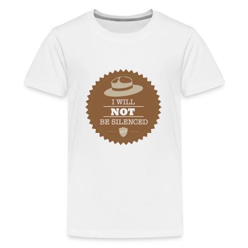 Not be Silenced - Kids' Premium T-Shirt