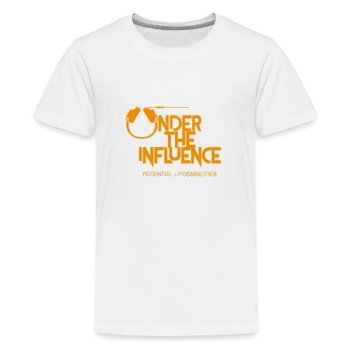 UndertheInfluenceORANGE - Kids' Premium T-Shirt