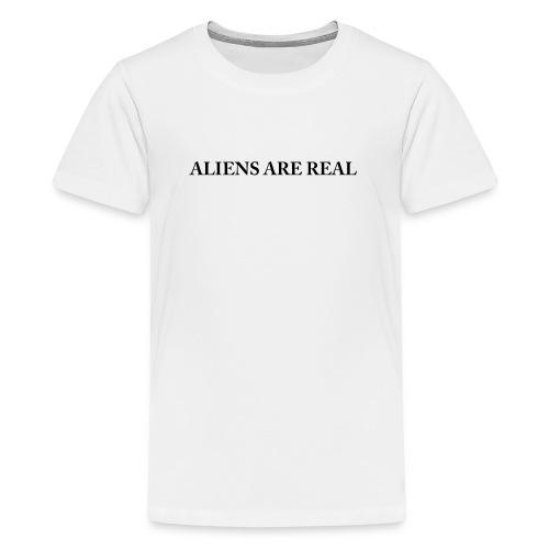 Aliens are Real - Kids' Premium T-Shirt
